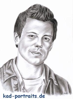 Cory Monteith by ka.d.